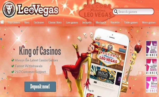 LeoVegas Slots Review