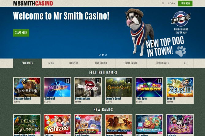 mr smith casino app