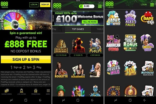 Casino 888 free online slot machine