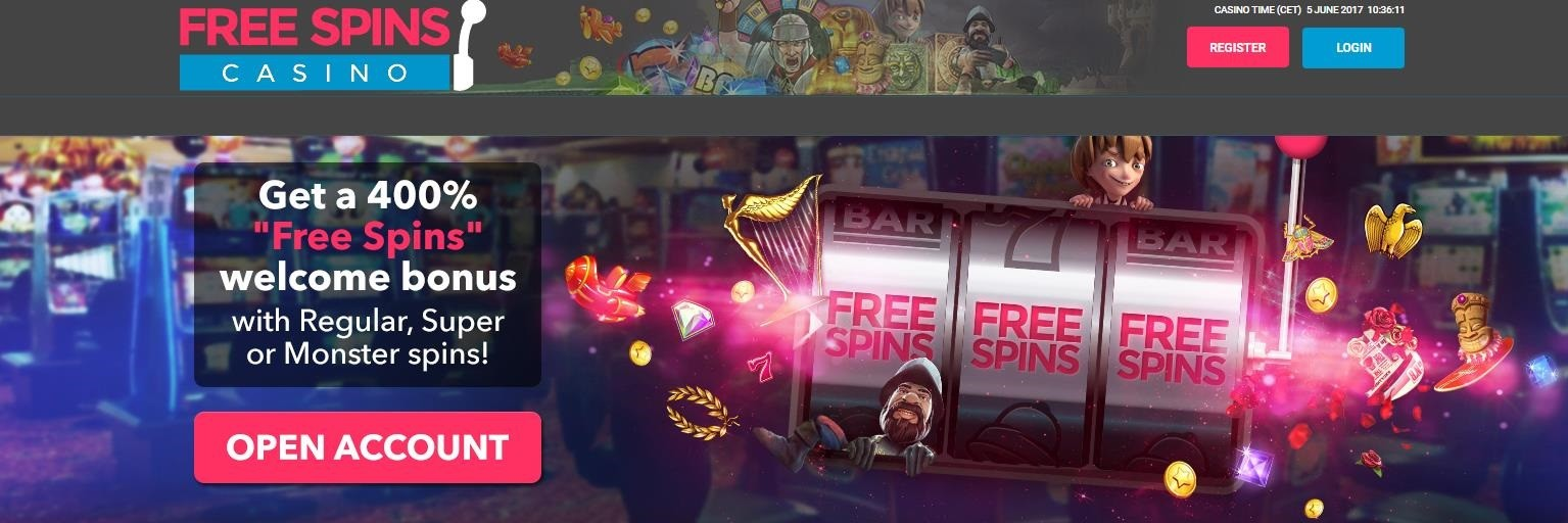 casino free spins games