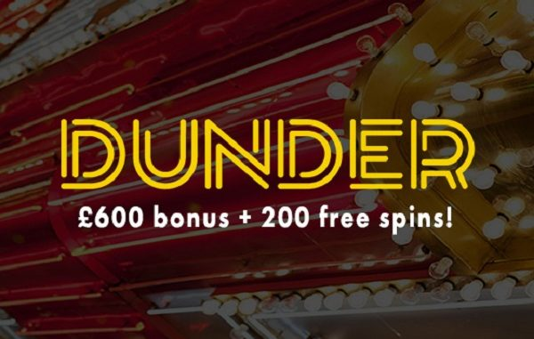 Dunder Casino Welcome Bonus Review